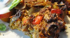 Krydret farsbrød med porrer, pesto, cheddar og bacon | NOGET I OVNEN HOS BAGENØRDEN