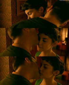Amelie Poulain and Nino Quincampoix aks Audrey Tautou & Mathieu Kassovitz in the 2001 movie, Amelie Audrey Tautou, Cinema Quotes, Movie Quotes, Best Kissing Scenes, Wes Anderson Movies, Movie Co, Film Theory, Music Illustration, Film Stills