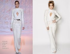 Jennifer Lopez In Zuhair Murad Couture – 'American Idol XIV' Top 2 Revealed Show