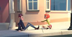 Jinxy Jenkins & Lucky Lou - Adorable Animated Short Captures One Weird Way Lovers Change Each Other's Lives Ap Spanish, Spanish Lessons, Spanish Classroom, Teaching Spanish, Movie Talk, Viral Videos, Short Stories, Trending Memes, Documentaries