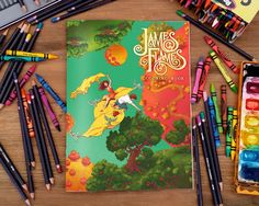 The James Flames Coloring Book