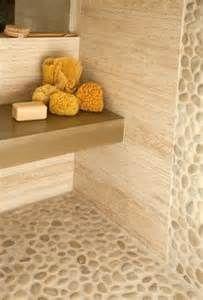 stone shower floor tile - Google Search                              …