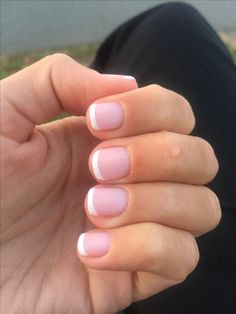 Opi gel French manicure