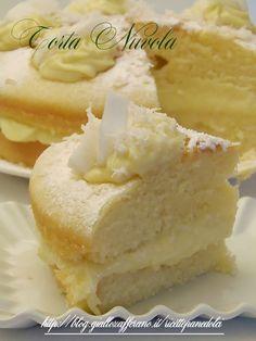 Ricetta Torta Nuvola alla Crema e Cocco
