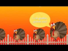 Thanksgiving Songs for Children - FIVE LITTLE TURKEYS - Turkey Kids Songs by The Learning Station - YouTube Thanksgiving Songs For Preschoolers, Thanksgiving Videos, Thanksgiving Preschool, Fall Preschool, Preschool Songs, Kids Songs, Happy Thanksgiving, Music Class, Music Education