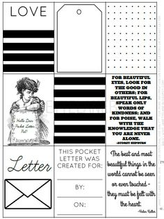Image of Pocket Letters™ Download (B&W) NOT FREE
