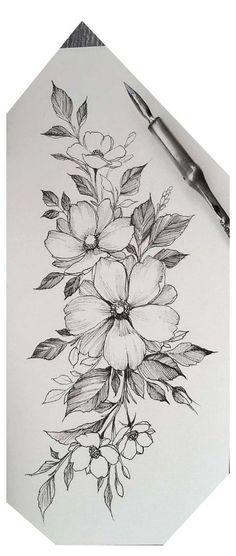 Three large Cherokee Rosebuds - one for mom, Nick and Aaron tattoos flower tattoo designs - tattoo style - tatoo feminina - Three large Cherokee Rosebuds one for Mama Nick and Aaron Tattoos flower tattoo designs - # Tatoo Floral, Simple Flower Tattoo, Floral Tattoo Design, Henna Tattoo Designs, Flower Tattoo Designs, Tattoo Ideas, Vintage Tattoo Design, Realistic Flower Tattoo, Vintage Tattoos
