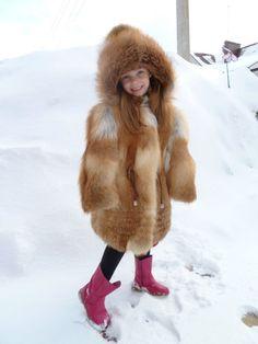 Red Fox girl