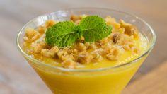 Mousse de maracujá com castanha-de-caju: Sobremesa fica pronta em até 10 minutos e garante efeito decorativo na mesa