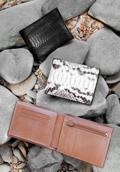 50% FOR SALE Wallets in genuine python leather handmade in Italy by Atelierdelrettile on Etsy