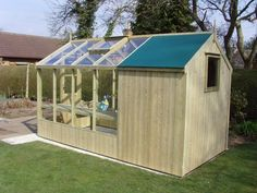 swallow - combination greenhouse / shed 4' w