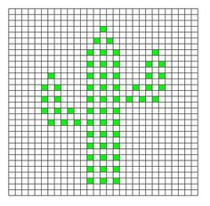Ravelry: Cactus Bobble Chart pattern by Kari Philpott