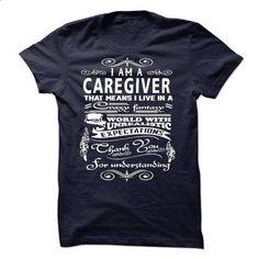 I am a Caregiver - #shirt outfit #black tee. CHECK PRICE => https://www.sunfrog.com/LifeStyle/I-am-a-Caregiver-18550168-Guys.html?68278