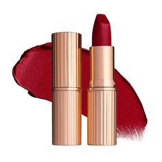 Charlotte Tilbury Luminous Modern-Matte Lipstick in Red Carpet Red