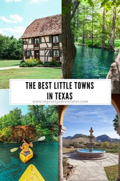 Discover some of the best little Texas towns to visit and plan a trip for yourself! I love the little Texas towns because of the lack of crowds, the joy of the locals who share their knowledge with you, and the gems that you uncover. Hiking In Texas, Texas Roadtrip, Texas Travel, Travel Usa, Texas Tourism, Travel Diys, Travel Gadgets, Travel Guides, Texas Vacations