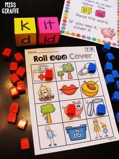 Short i word families games Short Vowel Activities, First Grade Activities, Sight Word Sentences, Cvc Words, Short I Words, Cvc Word Families, Phonics Sounds, Phonics Games, Reading Practice