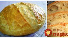 Domáci chlebík ako dych – je úplne bez práce: Len zamiešať a dať na pekáč, lepšie pečivo sme ešte nejedli! Bread Recipes, Graham, Desserts, Nova, Recipes, Tailgate Desserts, Deserts, Postres, Dessert