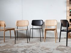 Hay Soft Edge Chair Metal Frame
