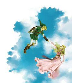 /Ocarina of Time/#1588963 - Zerochan   The Legend of Zelda: Ocarina of Time, Adult Link and Adult Princess Zelda