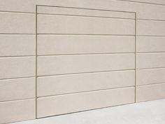 Up-and-over garage door INVISIBLE SYSTEM by DE NARDI design Alberto Basaglia, Natalia Rota Nodari, De Nardi R