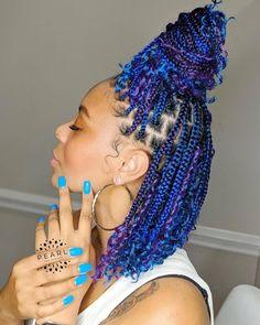 Box Braids Hairstyles For Black Women, Braids Hairstyles Pictures, Faux Locs Hairstyles, African Braids Hairstyles, Weave Braid Hairstyles, 4 Braids Hairstyle, Box Braids Updo, Kids Box Braids, Bob Braids