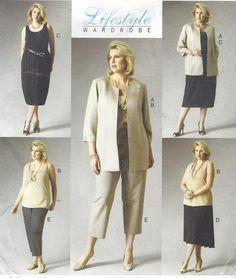 Plus Size Womens Jacket Top Dress Skirt & Pants OOP by CloesCloset
