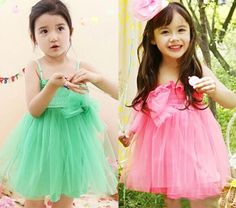 pink and green kids dress for 2-7years old .18usd ,go here https://www.wish.com/c/53b11922ff4d6d2b768b2ca2