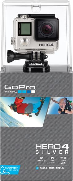 GoPro Hero4 Silver oh hell to the yes please!!!