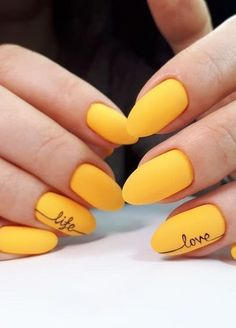 30 Adorable Nail Art Designs of 2019 Let mama cook delicious cookies. You just sit back and Adorable Nail Art Designs of Ballerina Nails in Muted ColorsThis Yellow Nails Design, Yellow Nail Art, White Nail Art, Neon Yellow, Acrylic Nails Yellow, Nail Art Designs Images, Fall Nail Art Designs, Acrylic Nail Designs, Nail Art For Fall
