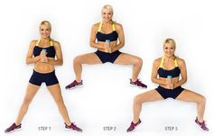 ćwiczenia na uda, SumoSquatCalfRaise