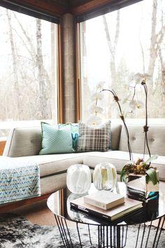 Hillary Thomas Designs an Aspen Ski House | Domaine Home.