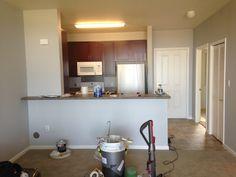 Paint progress kitchen