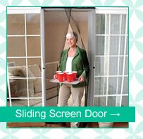 Leave your doors open & bugs out! Easy hand free walk through from #TaylorGifts