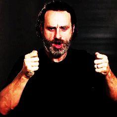 I believe in Rick Grimes.