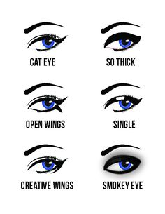 What kinds of eyeline should I be putting? It depends on the mood and occasion you are going! Try out these eyelining!