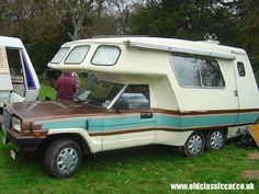 classic camper van in Shropshire.