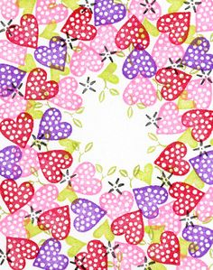 The Dotted Heart Border Peg Stamp Set includes 4 stamps:      Projects & Card SamplesDownload Card Insert