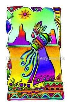 Greeting Card - Aquarius