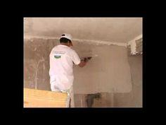 Modo de Aplicación de Yemaco. #Yeso tradicional para la #construcción, ideal para realizar enlucidos de paredes y cielorrasos. Se aplica en forma manual y se utiliza en todo tipo de #obras.