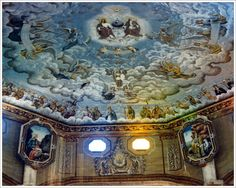 Catholic Church Ceiling Paintings Today I found something I haven't seen in a long while. Would like to see more of these stuffs First Time Flyer, Drone For Sale, Rc Hobbies, Place Of Worship, Kirchen, Art Google, Catholic, Cathedral Ceilings, Photography