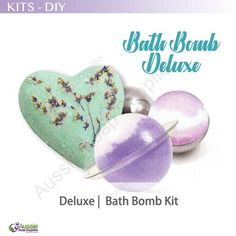 DIY Bath Bomb Kit Deluxe Bath Bomb Kit, Fizzy Bath Bombs, Latex Gloves, Bath Fizzies, Presents For Girls, Pure Essential Oils, Diy Kits, Bath And Body, Fragrance
