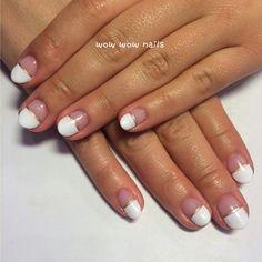 Lauren's nail design! #frenchtips #frenchnails #whitenails #springnails #goldlines #goldaccent #nailart #prettynails #beauty #fashion #nailporn #nailgasm #nailjunkie #wowwownails #toronto