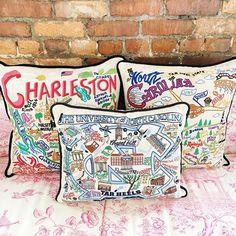 Moon and Lola Charleston pillows I Charleston SC pillows