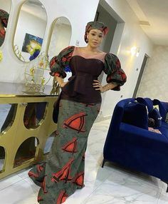 All Fashion, Womens Fashion, Fashion Ideas, African Design, Ankara Styles, African Dress, African Fashion, Wedding Day, Classy