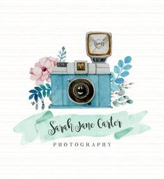 Watercolor & Vintage Style Photography Business by TinkStudio