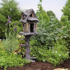 Fairy Garden Miniature House Tree House 223-129