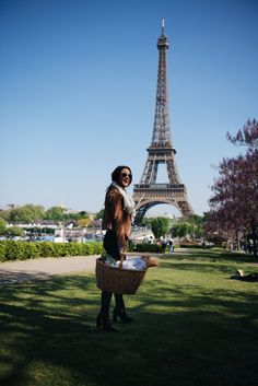 A Picnic in Paris under the Eiffel Tower