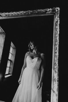 Reflection of the beautiful bride Image by Aperture Photos