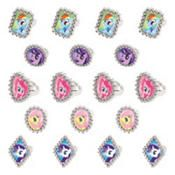 My Little Pony Rings 18ct Party City 18 ct $3.99 use for cupcakes or games.