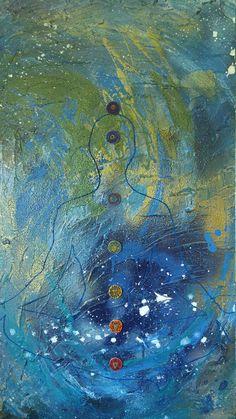 Contemporary abstract artwork spiritual art mixed media art Modern Art Movements, Contemporary Abstract Art, Watercolor Artists, Watercolour, Abstract Photography, Hanging Art, Vintage Posters, Pop Art, Original Artwork